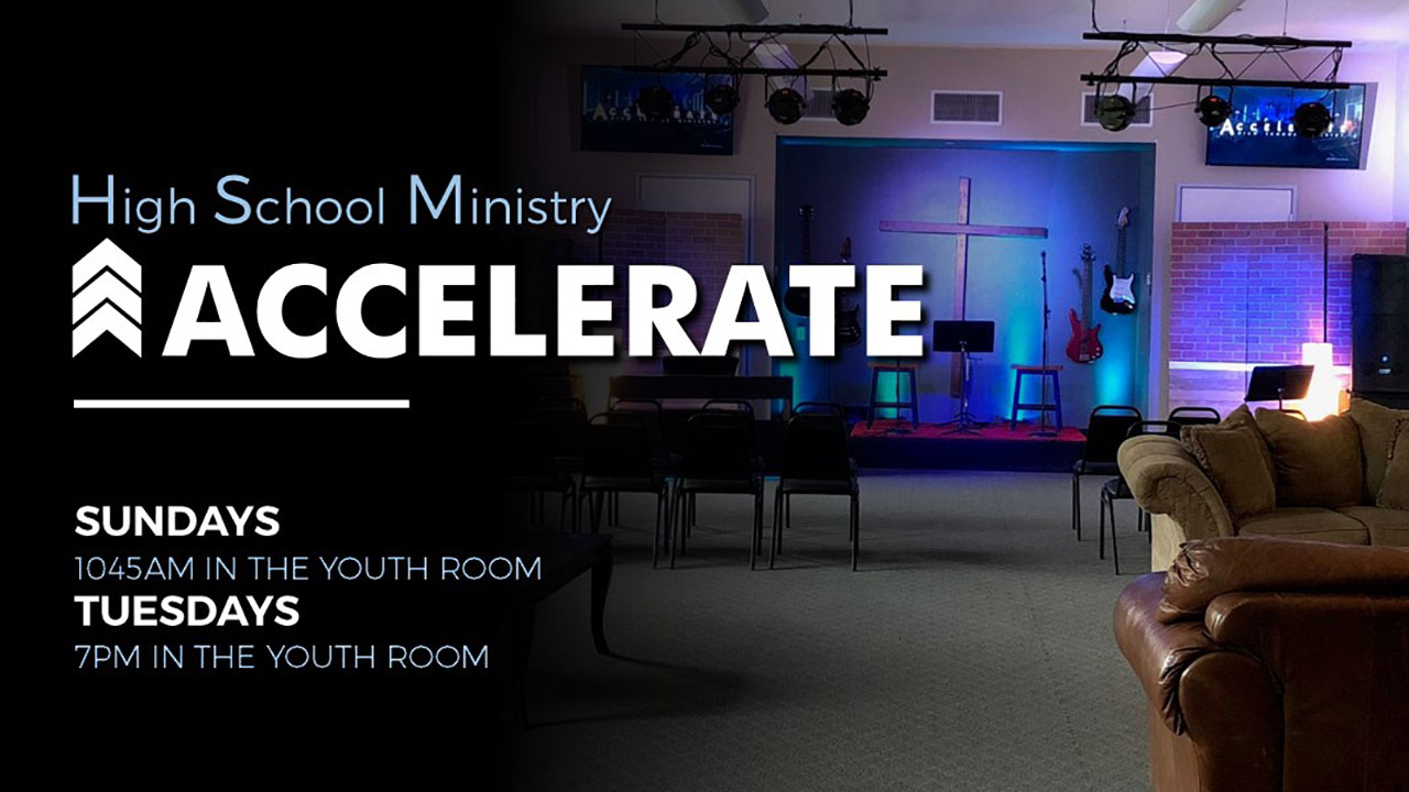 Accelerate High School Ministry at Canyon Hills Friends Church