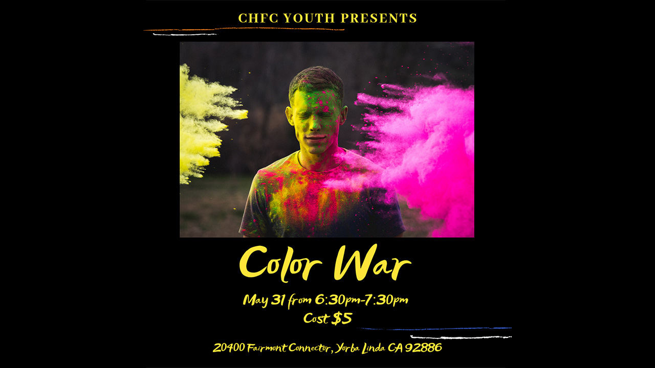 Color War at High School Accelerate Ministry