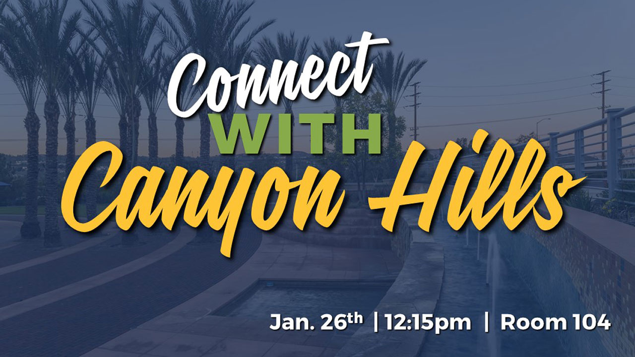 Connect With Canyon Hills