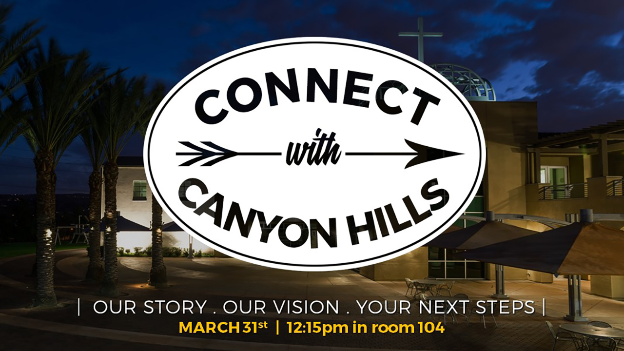 Connect With Canyon Hills Friends Church