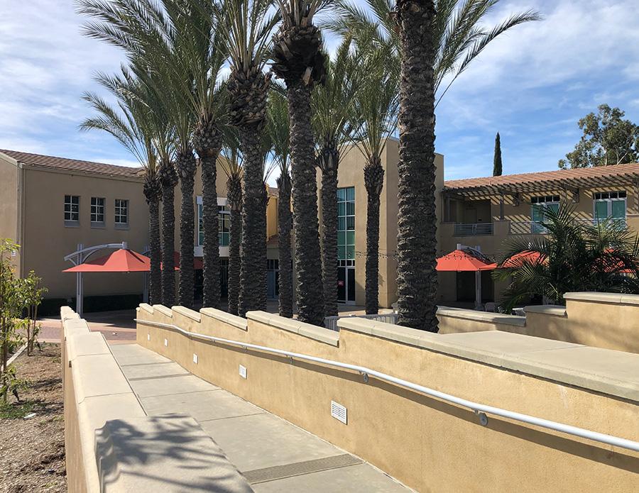Canyon Hills Friends Church Courtyard Ramp/Handicap Access