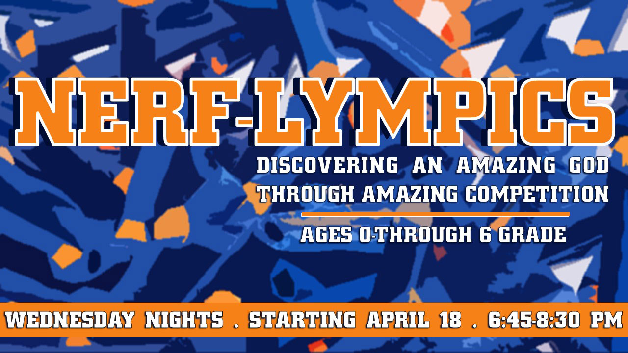Wednesday Nights for Kids: Nerf-Lympics