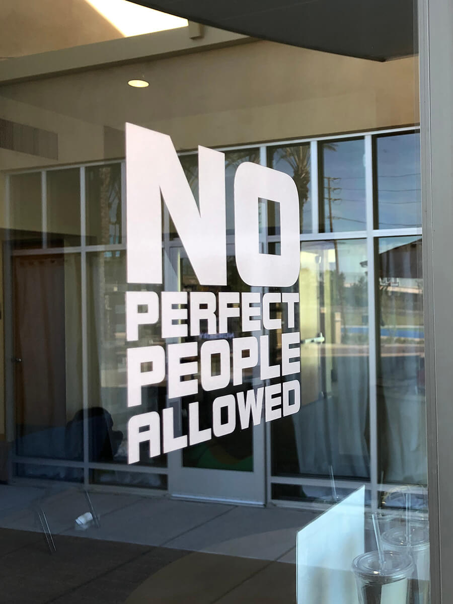 No Perfect People Allowed at Canyon Hills Friends Church