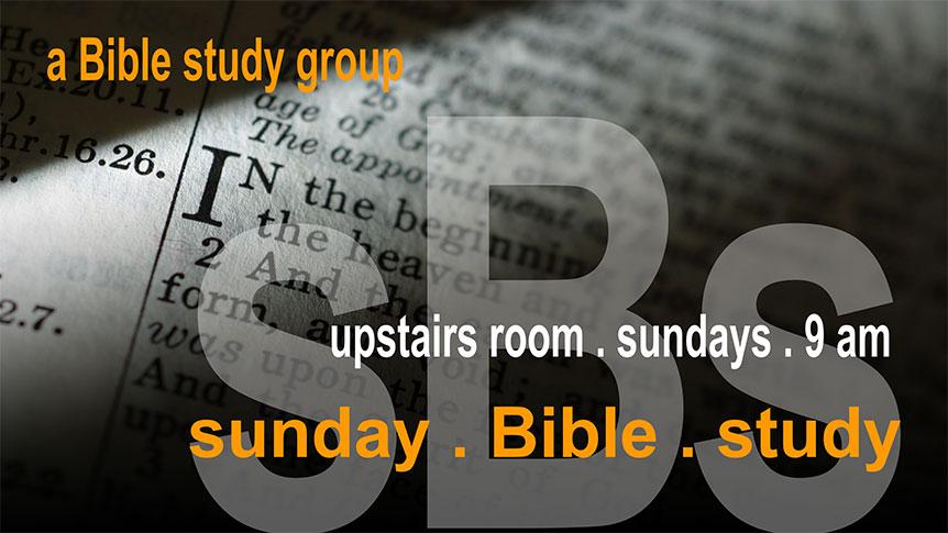 Sunday Bible Study at Canyon Hills Friends Church