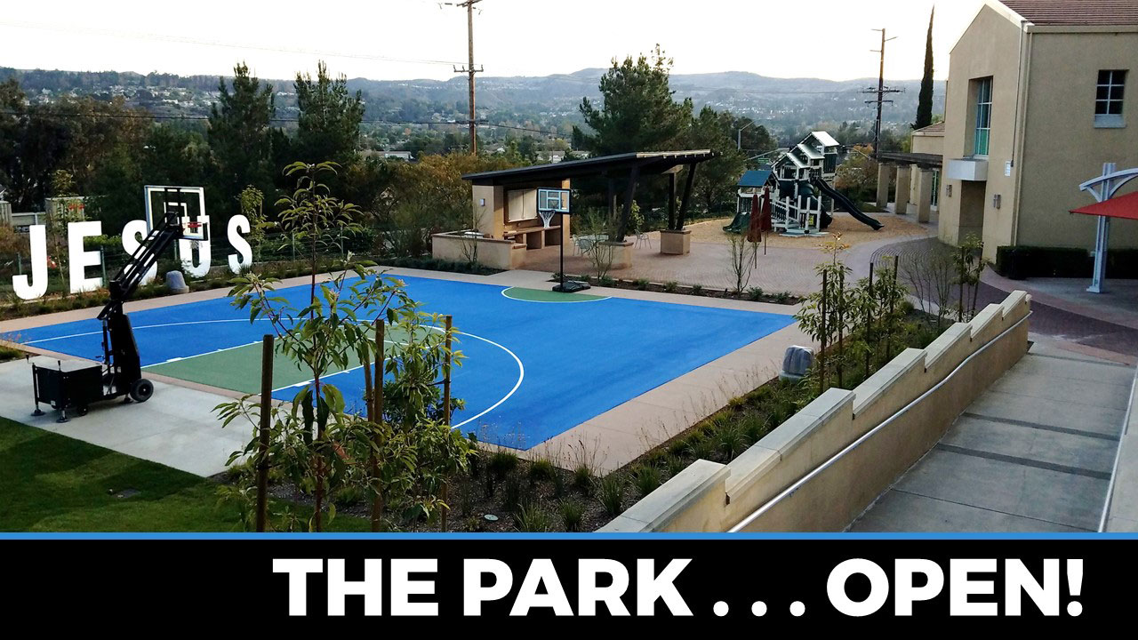 The Park Is Now Open at Canyon Hills Friends Church