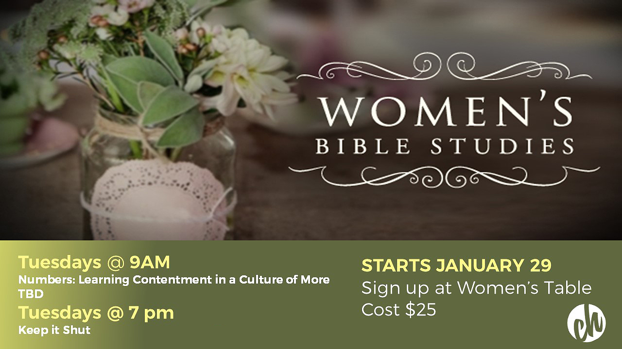 Women's Bible Studies at Canyon Hills Friends Church