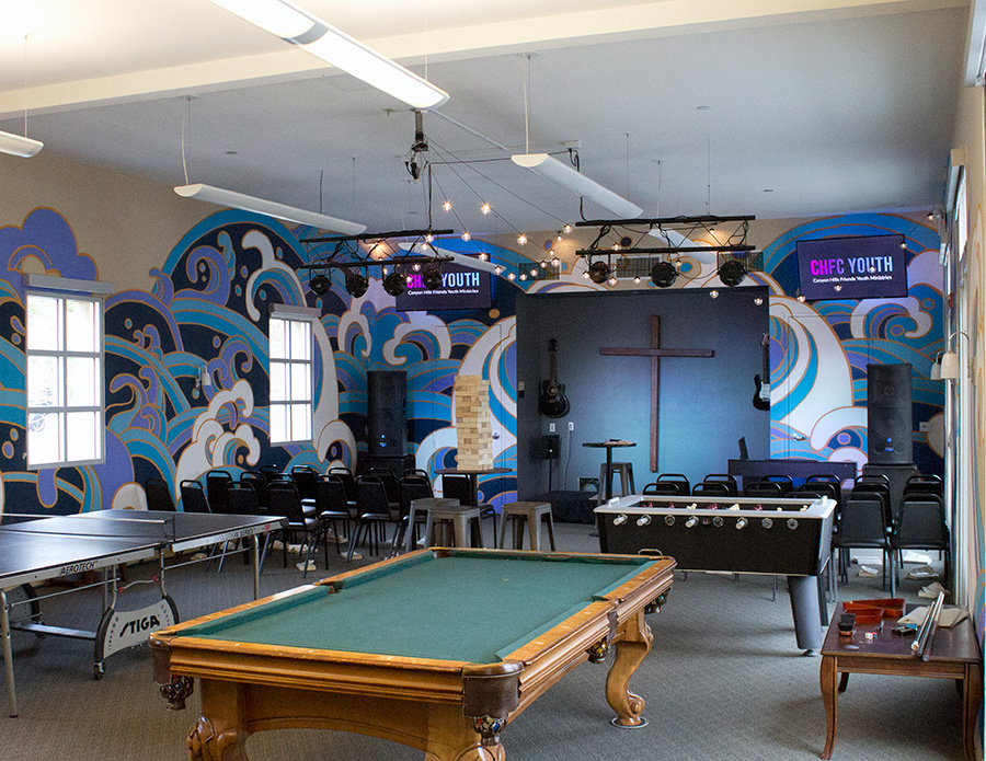 Canyon Hills Friends Church Youth Room